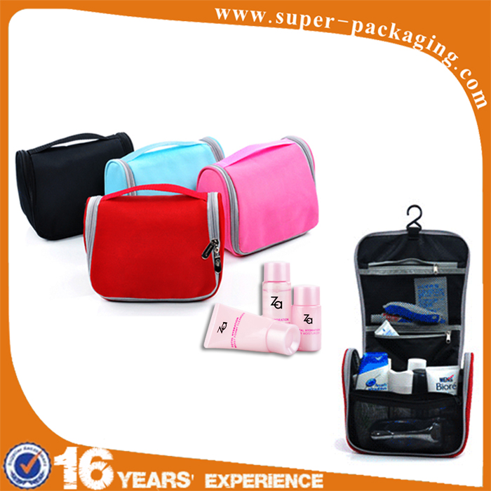 New product type packaging tote Nylon clear custom toiletry bag for travel