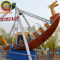 Shenlong hot sale swing ship rides attractive kids pirate ship playground for sale