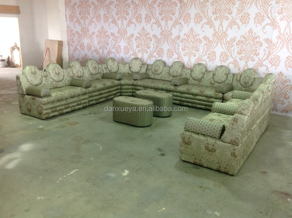 En Forma De U Muebles Estilo Árabe Salón Sofá Para Sala De Estar ...