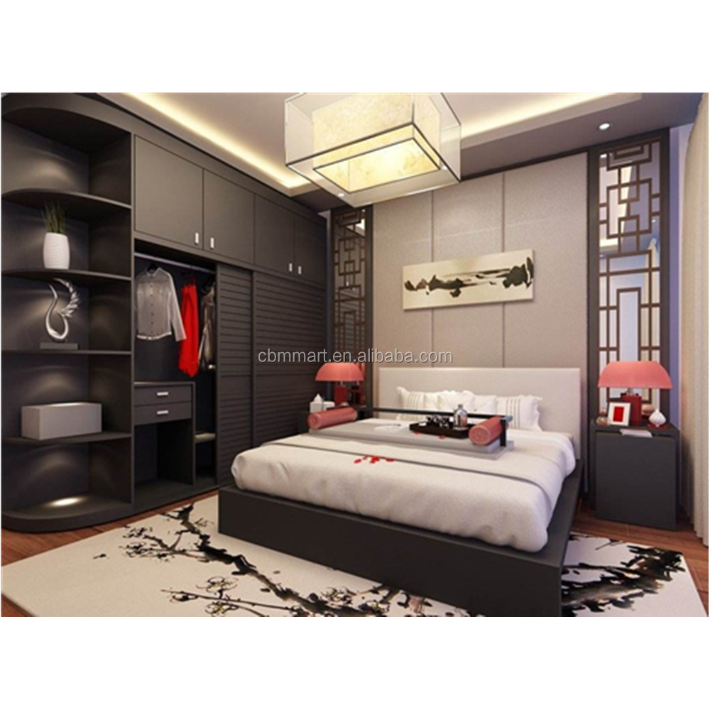Bedroom Set With Sliding Door Wardrobe