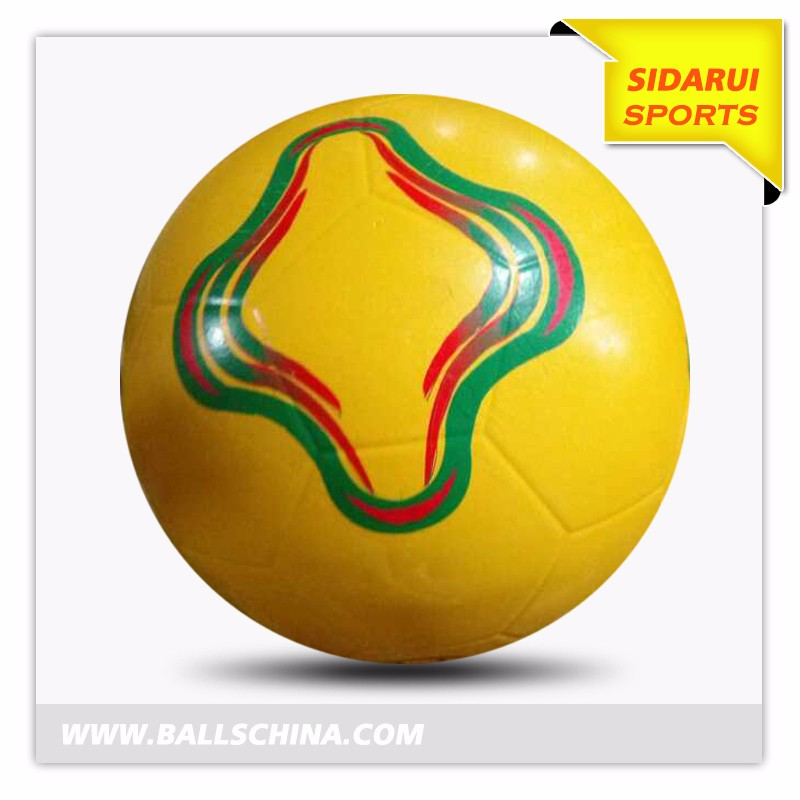 wholesale standard size Rubber Cheap Football&soccer ball