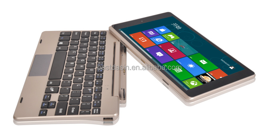 Sexy power Metal cover 8.9 inch window tablet pc with Magnetic keyboard
