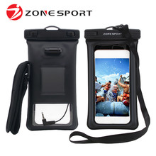 Universal mobile dry bag swimming water proof phone case