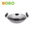 China supplier stainless steel wok double pan with magnetization
