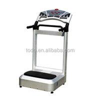 Touch screen power fitness equipment vibration plate crazy fit massage machine oscillating machine