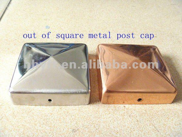 Iron/copper/aluminum Fence Post Cap China Supplier