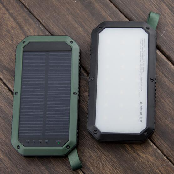 Outdoor Solar power bank 10000mAh 8000mah portable solar charger for samsung mobile phone charger multi USB port