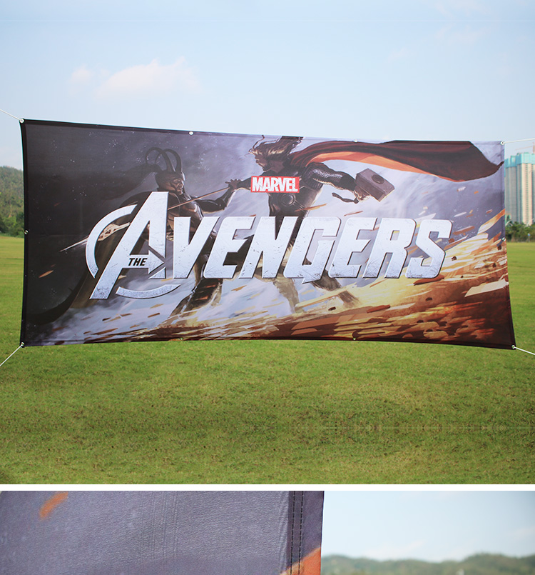Outdoor Custom Printing Images Perforated Polyester /Vinyl Backdrop Banner