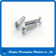 Customized M2 M3 M4 M5 M6 stainless steel copper metal pan head screw machine screw