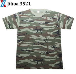 Jihua Brand Military soldier Slim fit cotton Jersey T-shirt