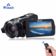 "HDV-Z80 camera 10X Optical Zoom Video Camera professinal max 24MP 3"" Touch TFT camcorder 1920X1080P (FHD) digital video camera"