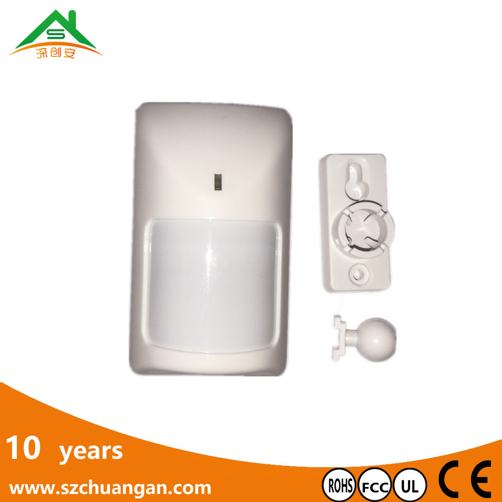 wide angle dual element pir passive infrared detector for securiy alarm system