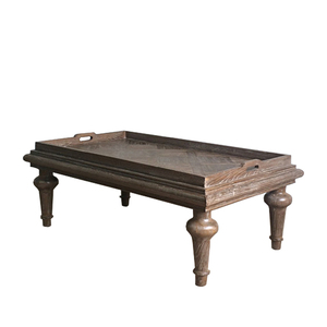 French antique wooden hobby lobby coffee tables