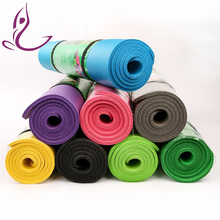Customized Yoga Mat Fold Eco-Friendly 1/4' Nbr Yoga Mat