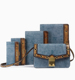 Ladies leather bags fashion shoulder bag jeans handbags