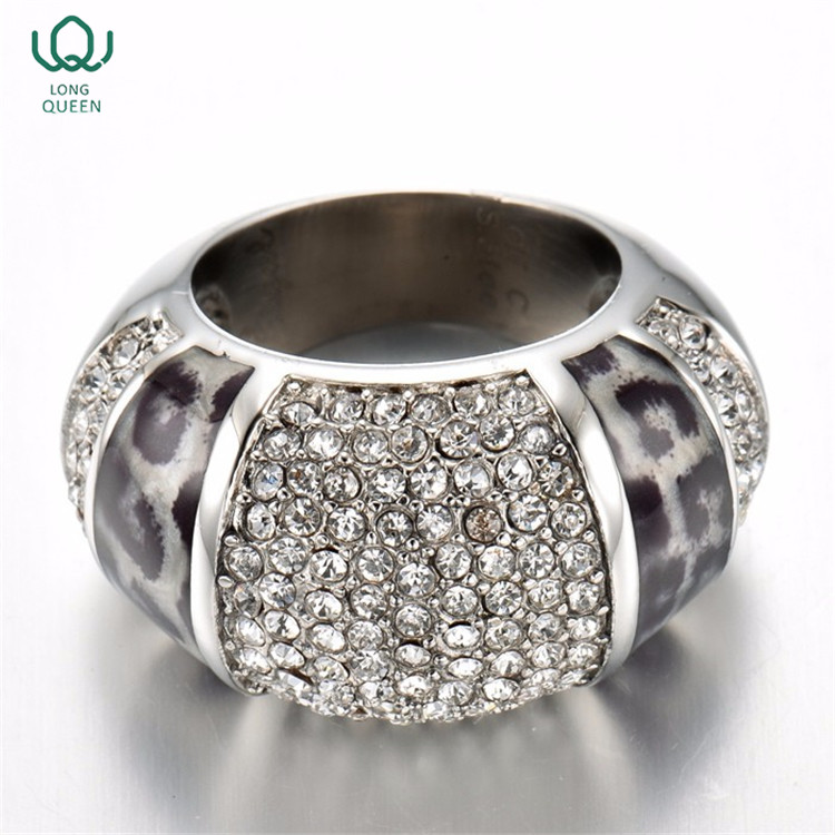 Fashion jewelry silver plated turkish engagement rings for men