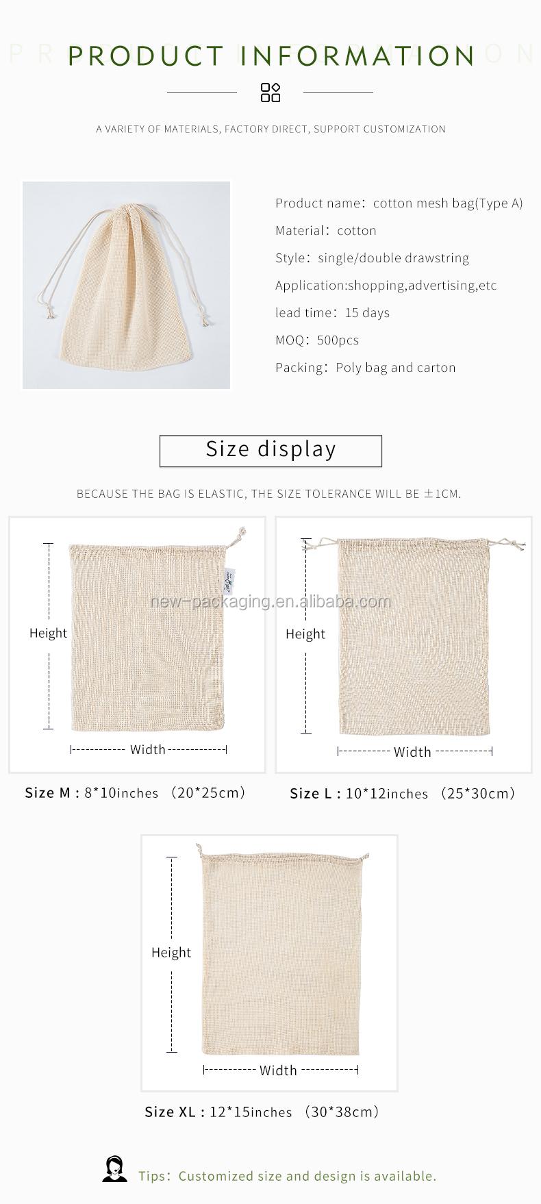 Null abfall wiederverwendbare polyester rpet produzieren tasche