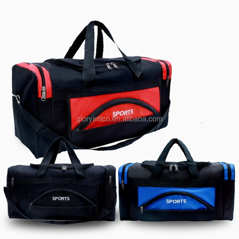600D Polyester 20   Blank Duffle Bag Travel Size Sports Durable Duffel ... ae3c8cddc3ce4