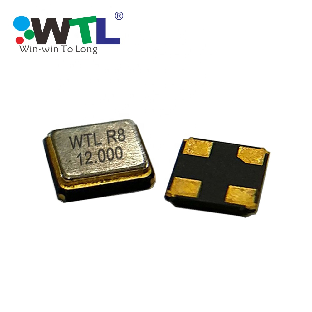 Free Sample WTL  Fast Delivery 3.2*2.5mm SMD 12pF 32MHz 10ppm Crystal