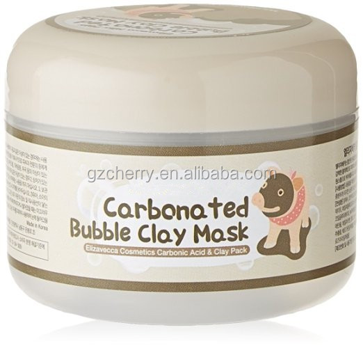 Private label carbonated bubble clay mask