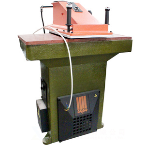 Used Atom VS918 hydraulic cutting machine shoe making slipper sole die press clicking machine