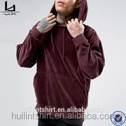 New manufacturer mens clothing long sleeve funnel neck hoodie