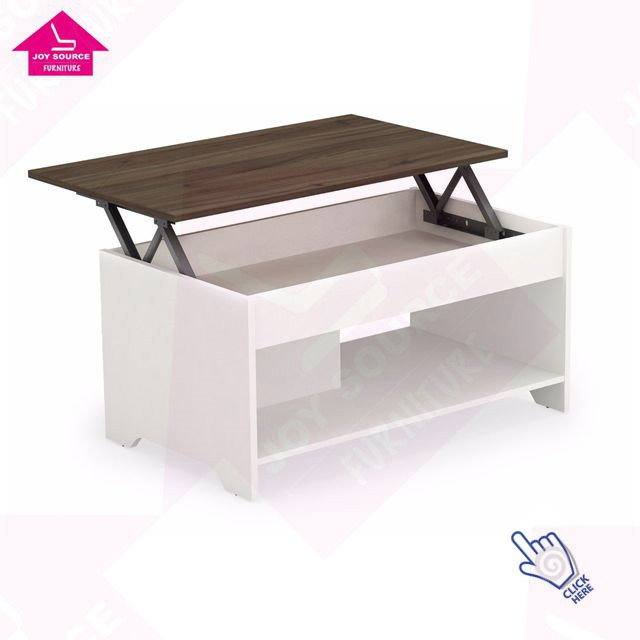 New Adjustable Lift Up Top Coffee Table with Storage in Living Room