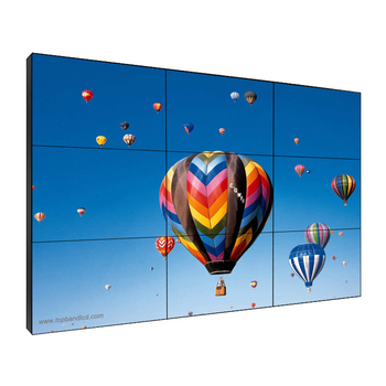 55inch 3.5mm Bezel exhibition lcd video wall