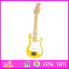 Top end handmade solid wooden guitar,solid wood guitar toy for kids,high quality Electric guitar for children W07H005