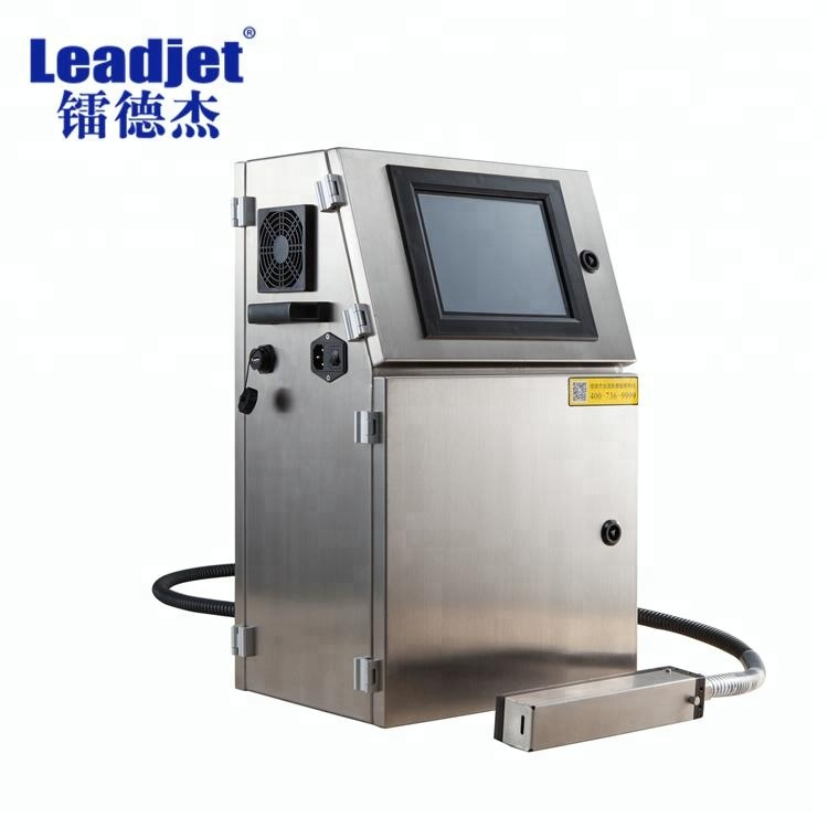 Leadjet Chinese Continue Vervaldatum Batch Code Inkt jet Printer V98
