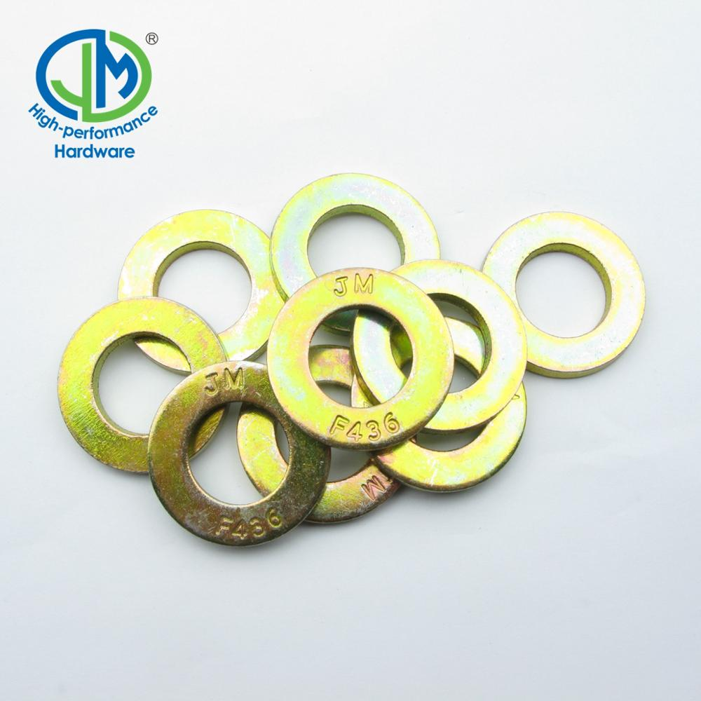 USS/SAE F436 zinc plated extra thick flat washer