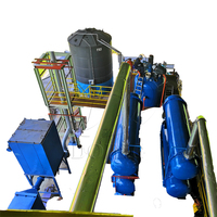 20ton hign capacity distillation machine to refine used engine oil to light yellow diesel oil