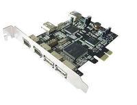 1394 firewire pci-e card with 3 port usb
