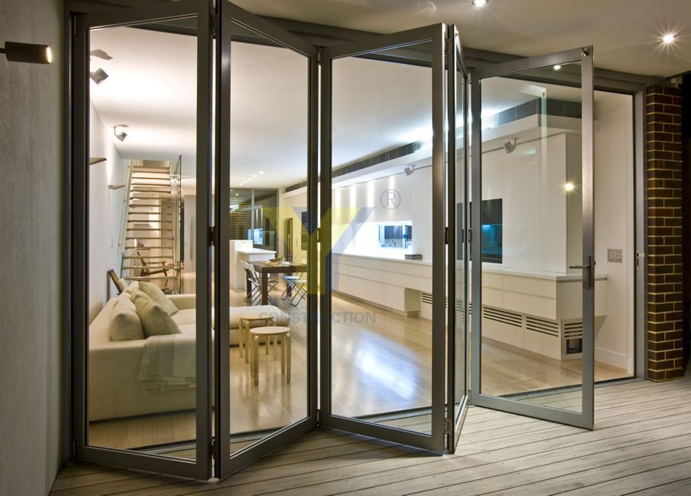 Aluminium Fly Screen Door/double Glazed Aluminium Windows And ...