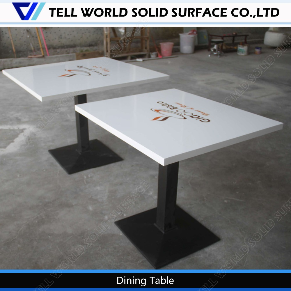 Corian Table Top,White Restaurant Square Desk,Cnc Table - Buy Cnc Table,White  Restaurant Square Desk,Corian Table Top Product on Alibaba.com