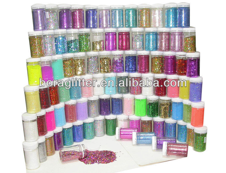 Bangsai High quality and High temperature rainbow glitter powder with low price