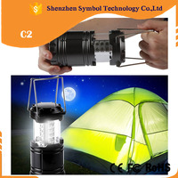 Black/Grey cover easily hanging 30 LED camping light camping lantern for tent camping