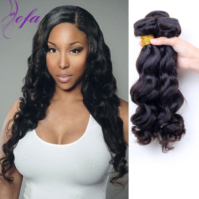 brazilian virgin hair loose wave 8A brazilian hair weave ... - photo#11