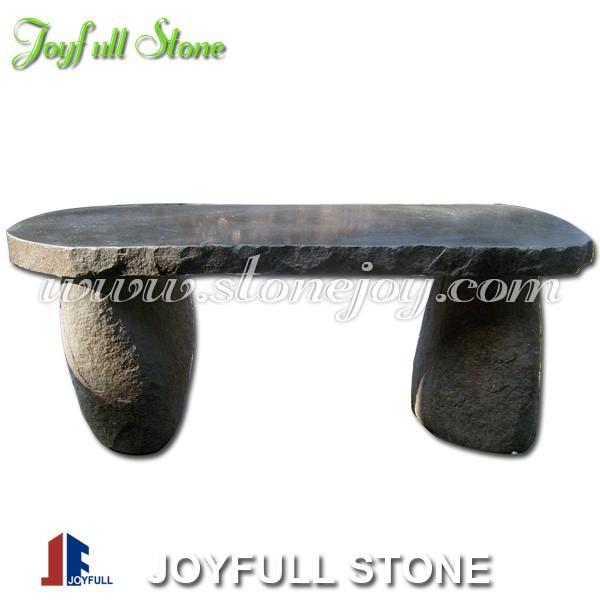 bancos de jardn de piedra de basalto en venta