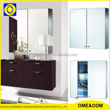 kitchen cabinets steel customized bathroom stainless steel led cabinet 3248