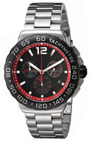 chronograph tag watch new item cool men all stainless steel watch