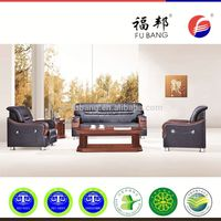 Modern roma combined modern dubai leather sectional office sofa sets furniture