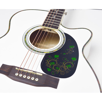 New Arrival Custom Acoustic Guitar Colorful Pickguard