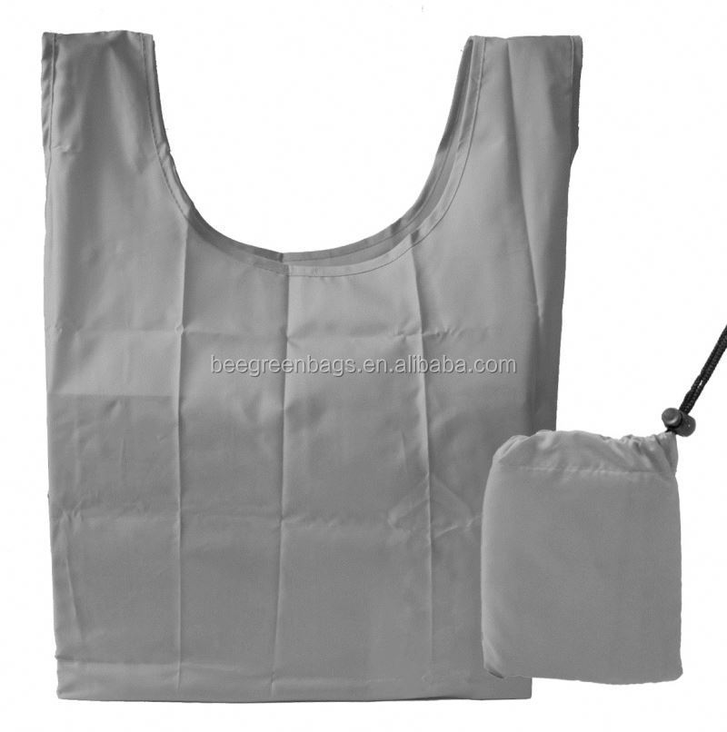 Discount 2015 RPET 190t polyester bag with small drawstring pouch