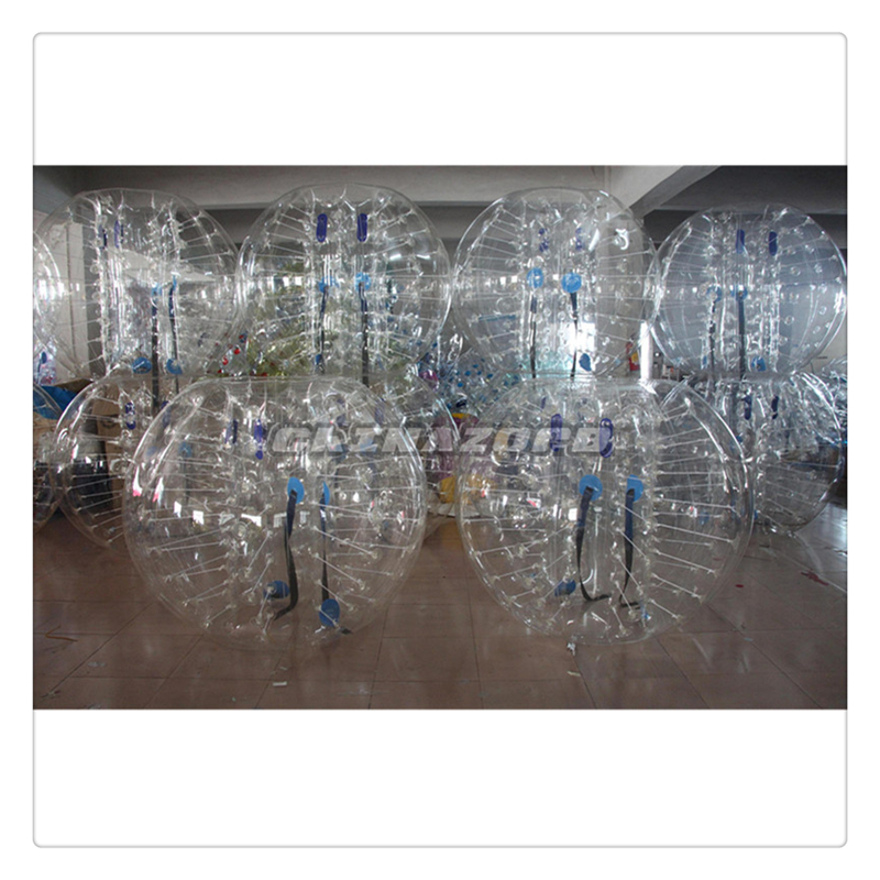 High quality wholesale clear cheap bubble soccer balls