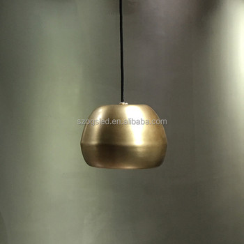 Shenzhen Ogs Modern Retro Wrought Copper Finishing Pendant Lamps E26 130v  Led Lights For Interior Furniture Decorations - Buy Copper Finishing  Pendant