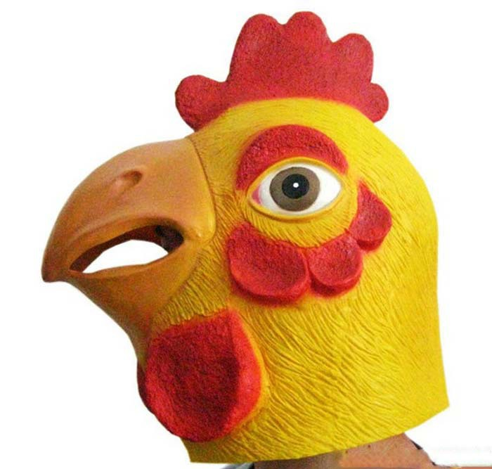 Get Quotations 5pcs Lot 2014 New Arrival High Quality Top Grade Chicken Head Latex Mask Animal Costume