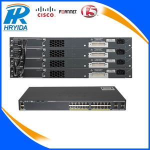 Cisco Catalyst 2960 series 24 ports 10/100 PoE + 2 T/SFP LAN Base Switch  WS-C2960+24PC-L
