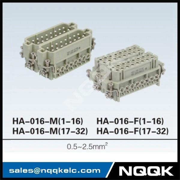 3 OEM HA screw terminal 16A 230V 25V insert heavy duty connector.jpg