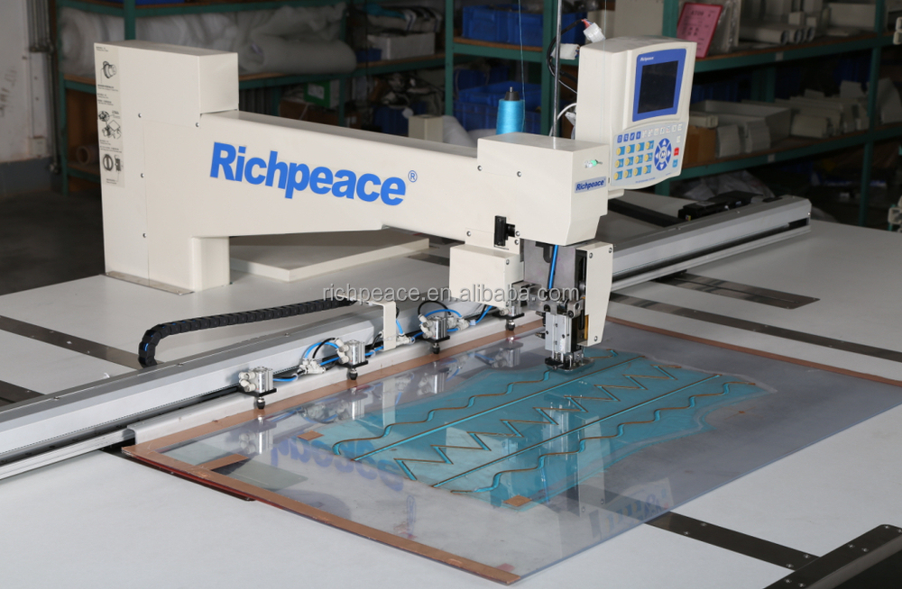 Richpeace Automatic Template Sewing Machine---Single head